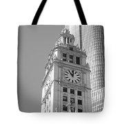 Chicago Clocktower Tote Bag