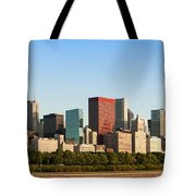 Chicago Downtown At Sunrise Tote Bag