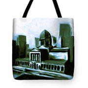 Chicago Federal Building 540 3 Tote Bag