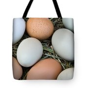 Chicken Eggs Tote Bag