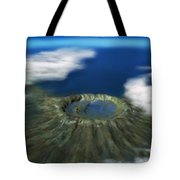 Chicxulub Crater, Illustration Tote Bag