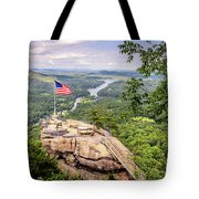 Chimney Rock State Park Tote Bag