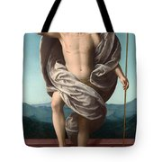 Christ Rising From The Tomb Tote Bag