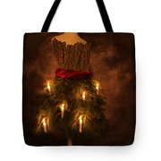 Christmas Candles Tote Bag