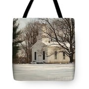 Christmas Church Tote Bag