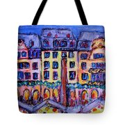 Christmas Market In Mainz Tote Bag