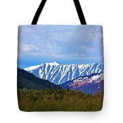 Chugach National Forest  Tote Bag