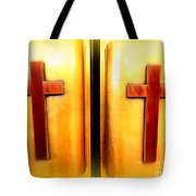 Church Doors Tote Bag