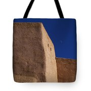 Church Taos Nm Tote Bag