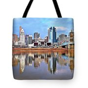 Cincinnati Reflects Tote Bag