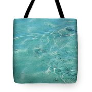 Circles On The Water Tote Bag
