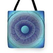 Circular Abstract Art Tote Bag