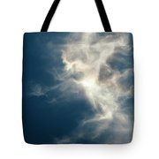Cirrus Clouds With Nature Patterns  Tote Bag
