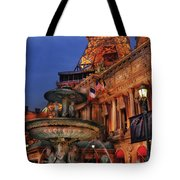 City - Vegas - Paris - Academie Nationale - Panorama Tote Bag
