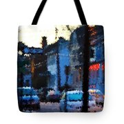 City As A Painting Tote Bag