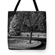 City Beach In Infrared Tote Bag