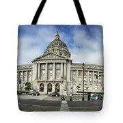 City Hall Tote Bag by Nancy Ingersoll