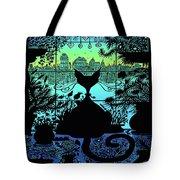 City Kitty Tote Bag
