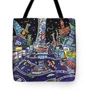 City Of Lights Tote Bag