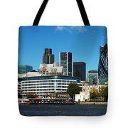 City Of London Skyline Tote Bag