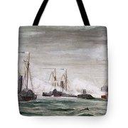 Civil War: Naval Battle Tote Bag