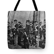 Civil War: Uss Kearsarge Tote Bag