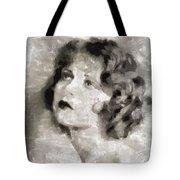 Clara Bow Vintage Hollywood Actress Tote Bag