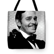 Clark Gable As Rhett Butler Gone With The Wind 1939-2015 Tote Bag