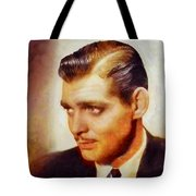 Clark Gable, Vintage Hollywood Actor Tote Bag