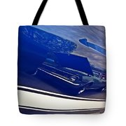 Classic Car Reflection Tote Bag