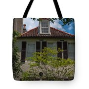 Clay Tile Roof Tote Bag