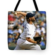 Clayton Kershaw, Los Angeles Dodgers Tote Bag