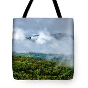 Clearing Storm West Virginia Highlands Tote Bag