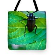 Climbing Beetle Tote Bag