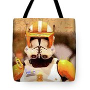 Clone Trooper Commander - Free Style Style Tote Bag