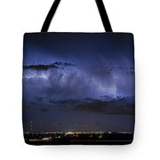 Cloud To Cloud Lightning Boulder County Colorado Tote Bag