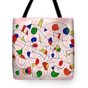 Clown Memory Cells Pink Tote Bag