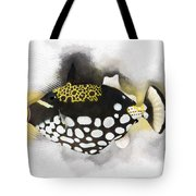 Clown Triggerfish No 01 Tote Bag