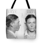 Clyde Barrow Mugshot Tote Bag