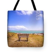 Coastal Landscape Near Padre Island Texas Tote Bag