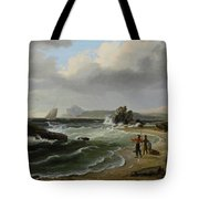Coastal Scene Tote Bag