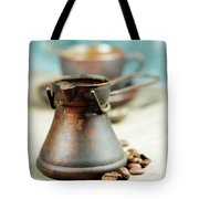 Coffee Composition Tote Bag
