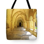 Coimbra Cathedral Colonnade Tote Bag