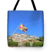 Coimbra Skyline Portugal Tote Bag