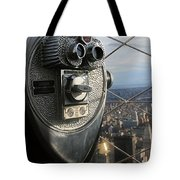 Coin Operated Viewer Tote Bag by Debbie Cundy