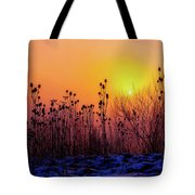 Cold Silence Tote Bag
