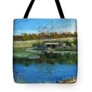 Cole Hill Pond Tote Bag
