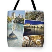 Collage Of Cordoba  Tote Bag