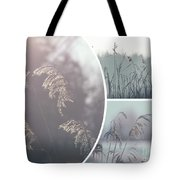 Collage Of Winter Time In Poland. Tote Bag