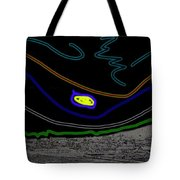 Collage Tombstone Arizona 1882 Vincent Van Gogh Starry Night Sky 1887-2008 Tote Bag